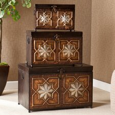 <strong>Wildon Home ®</strong> Trunk 3 Piece Set
