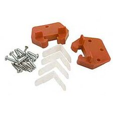 "Drawer Guide 6.44"" Cabinet Hinges (Set of 2)"