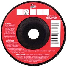 "4"" X 1/4"" Metal Cutting Grinding Wheel Depressed Center 17373"