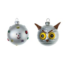 2 Piece Fioccodineve E Uffoguffo Christmas Tree Ornament Set (Set of 2)