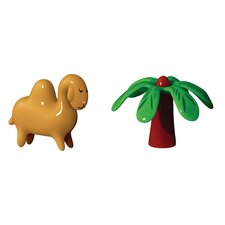 Dario Dromedario and Palmita Figurines (Set of 2)