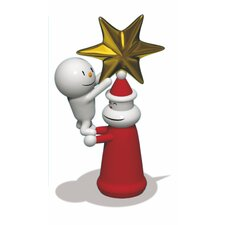 <strong>Alessi</strong> Holiday With a Little Help Christmas Ornament Figurine