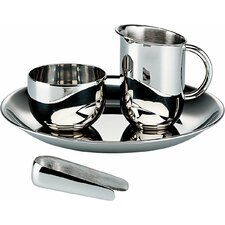 <strong>Alessi</strong> Bauhaus Sugar and Creamer Set
