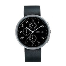 <strong>Alessi</strong> Record Chronograph Leather Watch