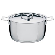 <strong>Alessi</strong> Pots and Pans Round High Casserole