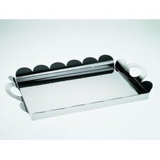 <strong>Alessi</strong> Alessandro Mendini Recinto Rectangular Tray with Handles