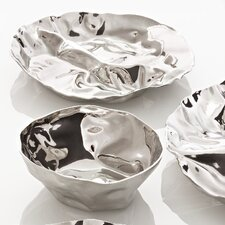 Lluis Clotet - Wrinkled Inspirations Pepa Hors-D'Oeuvre Chip and Dip Tray