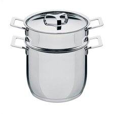<strong>Alessi</strong> Pots and Pans Multi-Pot by Jasper Morrison with Lid