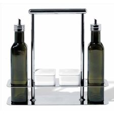 <strong>Alessi</strong> Andrea Branzi 87.5 oz. Trattore Set for Olive Oils
