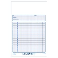 "5"" x 8"" Carbonless Statement Book"