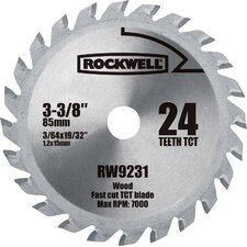 Versa Cut 24 Teeth Carbide Tipped Circular Saw Blade