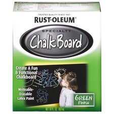 <strong>Rustoleum</strong> 1 Quart Green Chalk Board Paint