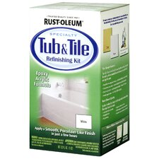 <strong>Rustoleum</strong> 32 Oz White Tub and Tile Refinishing Kit