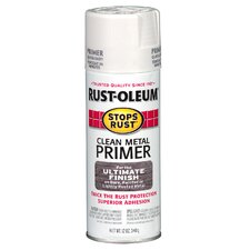 12 oz. White Clean Metal Primer Spray Paint