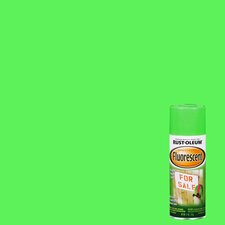 11 Oz Fluorescent Green Fluorescents Spray Paint