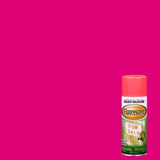 11 Oz Fluorescent Pink Spray Paint