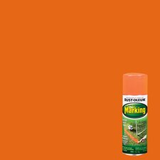 11 Oz Fluorescent Orange Marking Spray Paint