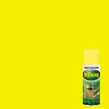 11 Oz Bright Yellow Marking Spray Paint