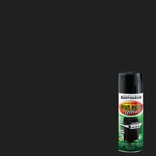 12 Oz Black High Heat Spray Paint Semi-Gloss