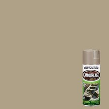 12 Oz Khaki Camouflage Spray Paint