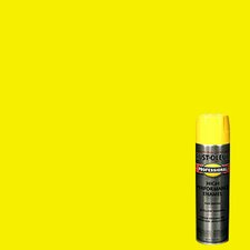 <strong>Rustoleum</strong> 15 Oz Safety Yellow Professional High Performance Enamel Spray 7543-83