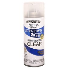 Clear Satin and Gloss Ultra Cover Spray Paint