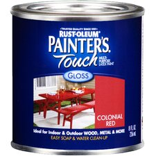 Half Pint Colonial Red Gloss Latex Paint