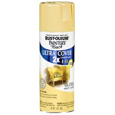 Warm Yellow Gloss Ultra Cover Spray Paint
