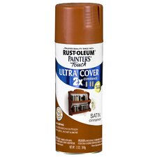 Cinnamon Satin Painter's Touch 2X Ultra Cover Spray Paint