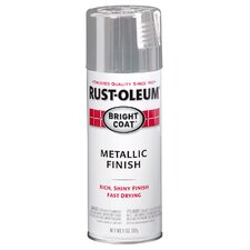 Aluminum Metallic Finish Spray Paint