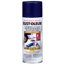 12 Oz Cobalt Blue Metallic Stops Rust Spray Paint