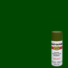 12 Oz Army Green Stops Rust Spray Paint