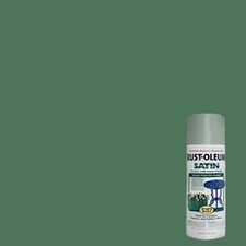 Sage Enamel Finish Spray Paint Satin