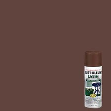 Chestnut Brown Enamel Finish Spray Paint Satin