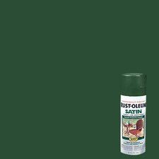 12 Oz Dark Hunter Green Stops Rust® Spray Paint Satin