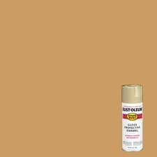 12 Oz Khaki Stops Rust® Protective Enamel Spray Paint Gloss