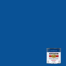 1/2 Pint Royal Blue Protective Enamel Oil Base Paint 7727 730
