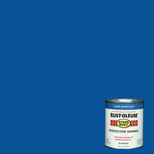 <strong>RustoleumStopsRust</strong> 1 Quart Royal Blue Protective Enamel Oil Base Paint 7727-502