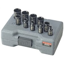 "1/4"" Drive Combo SAE and Metric Standard Socket Set"