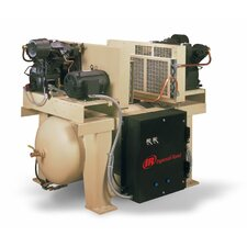 120 Gallon Single Phase Two Stage Duplex Full Packaged Air Compressor