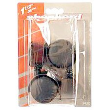 "1-1/2"" U Bracket Twin Wheel Caster (Set of 2)"