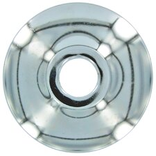 "1/2"" CTS Chrome Shallow Escutcheon 2 Count"