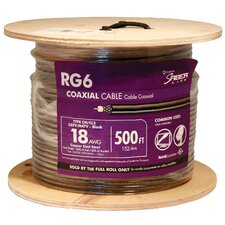 "6000"" 18 Gauge RG6 Coax Cable (Set of 500)"