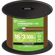 "6000"" 18 Gauge 3 Wire Thermostat Wire"