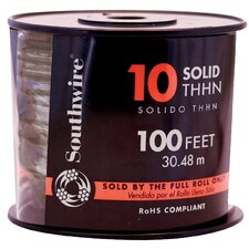 "1200"" 10 Gauge Solid THHN Wire"