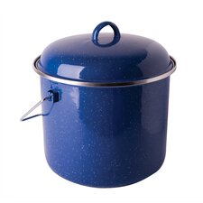 Cast Steel 7-qt. Straight Pot with Lid