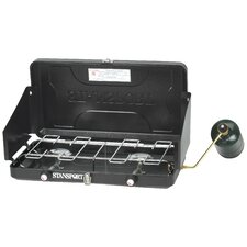 <strong>Stansport</strong> 2 Burner Propane Stove