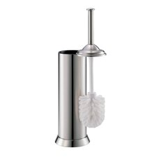 Toilet Brush Holders in Chrome or Satin Nickel