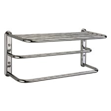<strong>Gatco</strong> Three Tier Towel Rack in Chrome