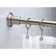 Marina 6' Shower Rod in Satin Nickel